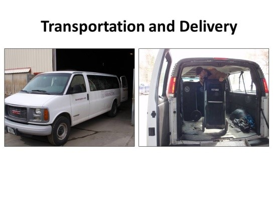 Transportation and Delivery
